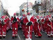 Парад Дедов Морозов пройдет в Краснодаре.