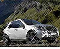 Mercedes ML 63 AMG представил первое официальное видео [ВИДЕО]