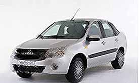 В России начались продажи бюджетного седана Lada Granta (видео)