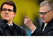 Жириновский хочет вызвать Капелло на дуэль