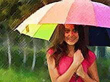 На Кубани сохранится жаркая и дождливая погода