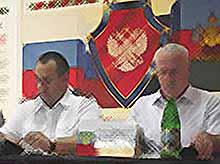 Подведены итоги деятельности ОВД Тимашевского района за 6 месяцев
