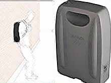 Шпионский рюкзак, позволяющий видеть сквозь стены