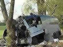На трассе Брюховецкая -Тимашевск рейсовый автобус столкнулся с грузовиком
