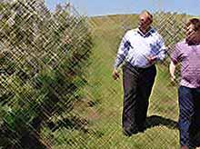 В хозяйствах Тимашевского района активно ведутся  работы по закладке новых садов.