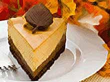Осенние рецепты : тыквенный чизкейк