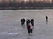 МЧС предупреждает о правилах поведения на льду!
