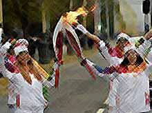 Эстафета Олимпийского огня пройдет на Кубани.