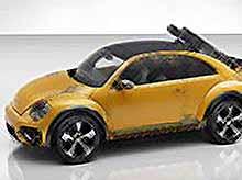 Знаменитый Volkswagen Жук сделали внедорожником
