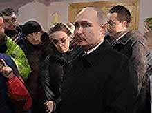 Путин встретился с жителями Кемерово:«Все виновные будут наказаны»