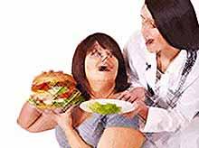 В России за 5 лет число страдающих ожирением увеличилось на   50%