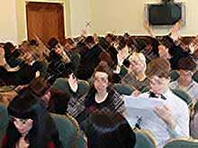 В Тимашевске состоялся первый молодежный Совет при главе района
