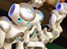 Роботы-гуманоиды яркие  победители  RoboGames 2011 (видео)