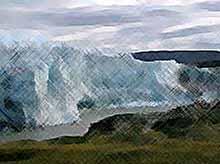 За счет таяния льда, Гренландия поднимается из воды