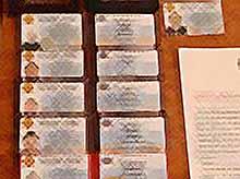 Изъято более ста фальшивых удостоверений