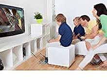 Видео игры вместе с детьми усиливают связь с ними