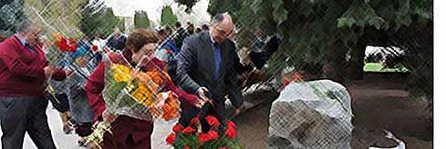 В Тимашевске почтили память  бывших узников фашистских лагерей.
