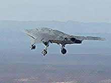 Робот-бомбардировщик, способный воевать без помощи людей (ВИДЕО)