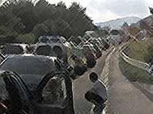 Губернатор Кубани готов вмешаться в ситуацию с 40-километровыми пробками на дороге к Черному морю