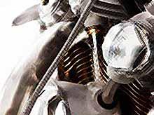 Мото шедевр Falcon Motorcycles Black Falcon 2011