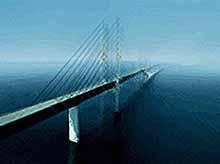 На Кубани начали строить технологический мост через Керченский пролив