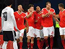 Россия впервые  вышла в плей-офф чемпионат мира