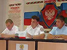 Сотрудники Тимашевской полиции провели пресс - конференцию на тему: «Коментарии о преступлениях получивших большой общественный резонанс».