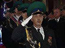 В Тимашевске прошел митинг, посвященный Дню Пограничника