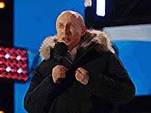 За рубежом Путина на выборах поддержали 84,99% россиян