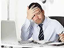 У большиства россиян работа вызывает стресс