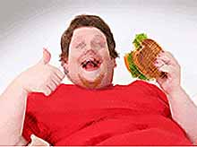В России утроилось число толстяков