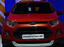 В  России начались продажи кроссовера  Ford EcoSport,