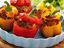 Летние рецепты: фаршированный перец