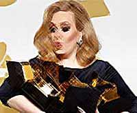 Адель получила шесть Grammy(видео)