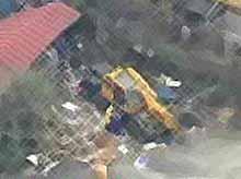 Японец на автокране задавил пятерых детей (ВИДЕО)