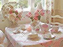 8 марта: красивые варианты сервировки стола