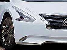 Особый авто концепт Nissan Ellure Concept