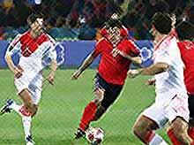 Сборная Россия не проиграла, но и не выиграла у сборной Армении
