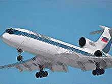 Пилоты  спасли от катастрофы  неуправляемый  Ту-154 в Подмосковье (видео)