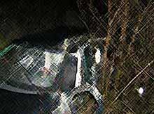 В Крымском районе перевернулась машина