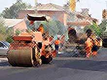 Тимашевск потратит 50 млн рублей на ремонт дорог и тротуаров.