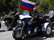 Байк -шоу в Новороссийске посетил В.Путин  (Видео)