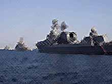 Корабли Черноморского флота направили на охрану Сочи на время ЧМ-2018