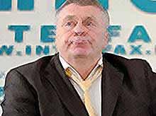 Жириновского закидали квашеной капустой  (видео)