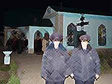 В Тимашевске была усилена охрана на «Пасху»