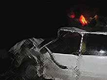 На автодороге «Тимашевск - Полтавская» грузовик раздавил легковушку с пьяным водителем