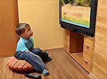 Телевизор в детской может привести к ожирению и диабету у детей