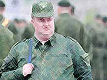В России будут увольнять военных с лишним весом