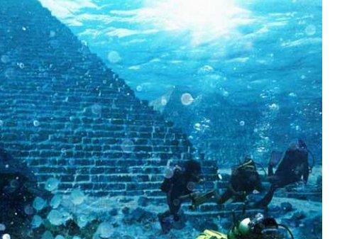 Древний затерянный город нашли на дне Бермудского треугольника