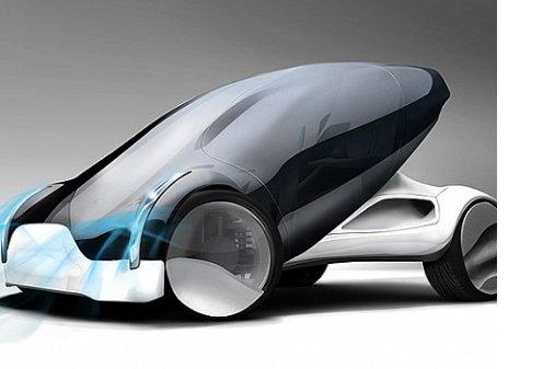 Концепт-автомобиль Maininki -стремительная капля